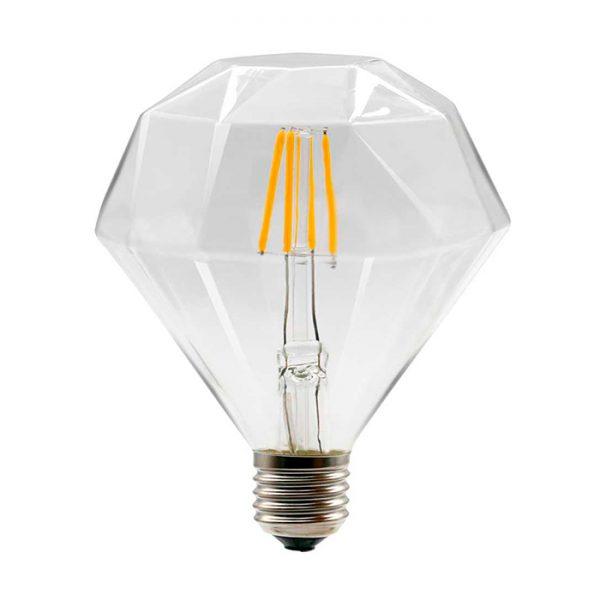 Ampolleta Vintage, filamento LED, 6W, Insular Tienda