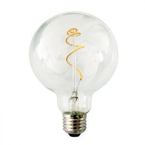 Ampolletas filamento LED, Ampolleta globo,ampolleta LED, ampolleta globo, Lamparas Insular